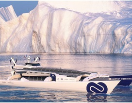 Chiếc thuyền tự nạp nhiên liệu để hành trình vòng quanh thế giới