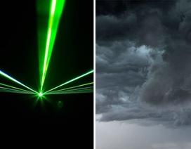 Các nhà khoa học có thể điều khiển thời tiết bằng tia la-ze
