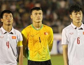 """U22 Việt Nam đối diện với """"tử huyệt"""" ở vị trí thủ môn"""