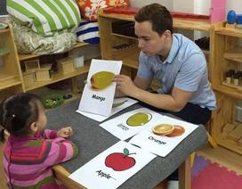 Cần điều chỉnh để giúp trẻ làm quen với tiếng Anh bài bản hơn