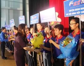 Quảng Trị: Gần 500  thanh niên tình nguyện, hỗ trợ thí sinh thi THPTQG 2017
