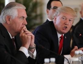 Tổng thống Trump muốn đọ IQ với Ngoại trưởng Tillerson