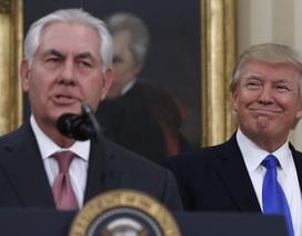 Ngoại trưởng Mỹ tính từ chức vì bất đồng với Tổng thống Trump?