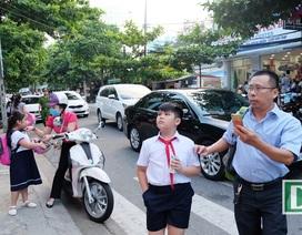 Đà Nẵng: Hiệu trưởng chủ động cho học sinh nghỉ học tránh mưa bão
