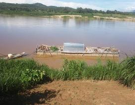 Phát hiện một thi thể mắc vào bè cá trên sông Trà Khúc