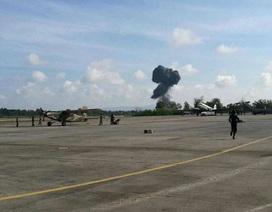 Máy bay chiến đấu Thái Lan rơi khi trình diễn, phi công thiệt mạng