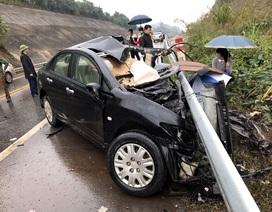 Giám đốc chi nhánh ngân hàng tử nạn trên cao tốc Nội Bài - Lào Cai