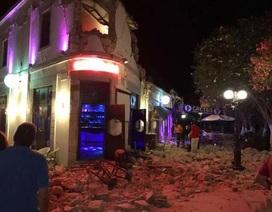 Động đất kéo theo sóng thần ở Thổ Nhĩ Kỳ, ít nhất 2 người chết