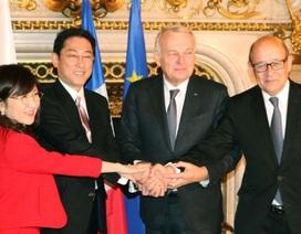 Bộ trưởng Nhật, Pháp gián tiếp chỉ trích Trung Quốc ở Biển Đông
