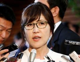 Bộ trưởng Quốc phòng Nhật Bản đối mặt sức ép từ chức vì lỡ lời