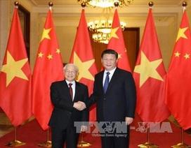 Tổng Bí thư Nguyễn Phú Trọng hội đàm với Tổng Bí thư, Chủ tịch Trung Quốc
