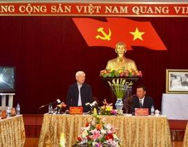 Tổng Bí thư: Nam Định phát triển chưa tương xứng với tiềm năng