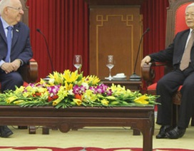 Tổng thống Israel bày tỏ sự ngưỡng mộ Chủ tịch Hồ Chí Minh