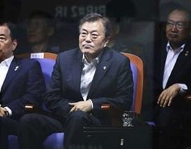 Tổng thống Hàn Quốc thị sát vụ thử tên lửa mới