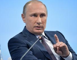 Tổng thống Nga Putin: Việc cử nhóm tàu sân bay tới Syria là ý tưởng của tôi