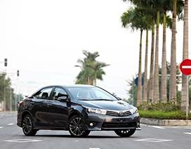 """Các hãng xe thi nhau giảm giá, Toyota buộc phải """"tham chiến"""""""