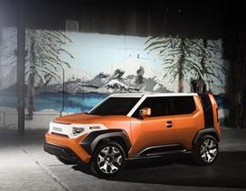 FT-4X thể hiện ý tưởng phá cách của Toyota
