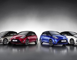 Toyota hé lộ Yaris mới
