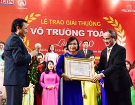 """Bí thư Thành ủy TPHCM Nguyễn Thiện Nhân: """"Tôn vinh thầy cô chính là tôn vinh lòng nhân ái, sự mẫu mực"""""""