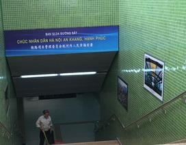 Vì sao dùng chữ Trung Quốc trong ga đường sắt Cát Linh - Hà Đông?