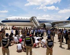 Campuchia trục xuất tiếp 29 công dân Trung Quốc
