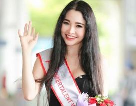 Người đẹp Lương Thái Trân giành ngôi Á hậu Siêu tài năng thế giới 2017