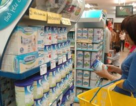 """Duy trì """"trần"""" giá sữa cho trẻ dưới 6 tuổi đến hết tháng 3/2017"""