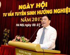 Hiệu trưởng ĐH Kinh tế quốc dân: Điểm trúng tuyển dự kiến có thể tăng từ 0,5 - 1,5 điểm