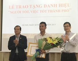 TP Hà Nội khen thưởng nam sinh chạy xe ôm trả lại 320 triệu đồng khách quên