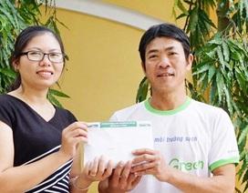 Trao 120 triệu đến hai hoàn cảnh khó khăn tại Nghệ An