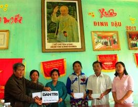 Bình Định: Gần 35 triệu đồng đến 4 hộ dân có nhà sập do lũ