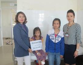 Hơn 20 triệu đồng đến với cô bé Ca Dong bị bỏng nước cơm