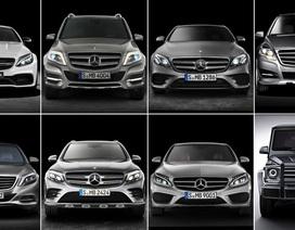 Mercedes-Benz triệu hồi cùng lúc 8 mẫu xe
