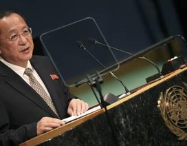 """Triều Tiên dọa cho Mỹ """"bài học nghiêm khắc"""" bằng vũ khí hạt nhân"""