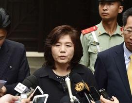 Quan chức Mỹ - Triều có thể nhóm họp giữa lúc căng thẳng