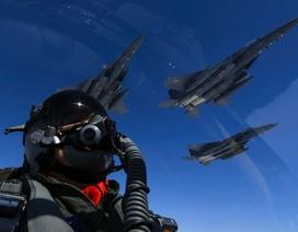 Máy bay Mỹ - Hàn - Nhật diễn tập rầm rộ sát vách Triều Tiên
