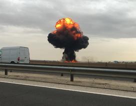 Máy bay chiến đấu Tây Ban Nha bốc cháy, phi công thiệt mạng