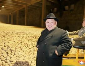 Ông Kim Jong-un tươi cười thăm nhà máy khoai tây giữa lúc căng thẳng