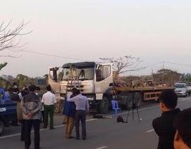 Vụ lái xe chết trong cabin: Nạn nhân bị sát hại, hơn 34 tấn thép trên xe bị cướp