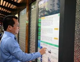 Trạm xe buýt có trụ kết nối internet, nhà vệ sinh năng lượng mặt trời
