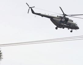 Trực thăng chở 13 người mất tích ở Venezuela