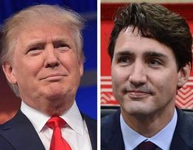 """Cuộc gặp """"lịch sử"""" giữa Tổng thống Trump và Thủ tướng Canada"""