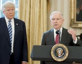 Ông Trump hối tiếc vì bổ nhiệm Bộ trưởng Tư pháp?