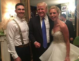Bất ngờ vì được Tổng thống Trump dự đám cưới