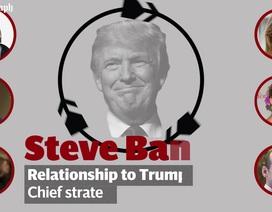 Những nhân vật quyền lực đứng sau Tổng thống Donald Trump