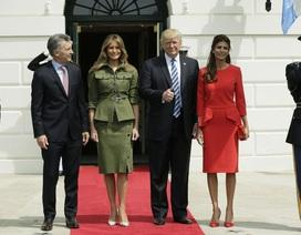Đệ nhất phu nhân Mỹ diện váy hơn 4.000 USD đón Tổng thống Argentina