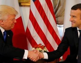 """Ông Trump ca ngợi chiến dịch tranh cử """"khó tin"""" của Tổng thống Pháp"""