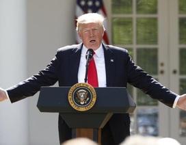 Tổng thống Trump tuyên bố Mỹ sẽ rút khỏi thỏa thuận chống biến đổi khí hậu