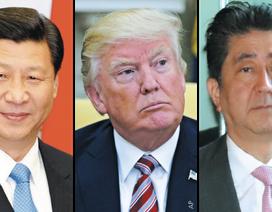 Ông Trump điện đàm với lãnh đạo Trung, Nhật về mối đe dọa Triều Tiên
