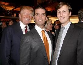 Con trai, con rể ông Trump cùng ra điều trần trước Quốc hội Mỹ